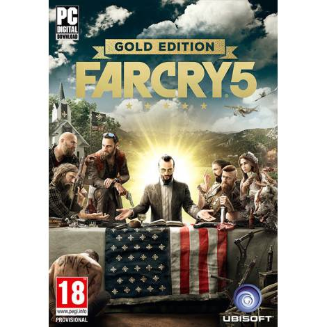 Far Cry 5 (Gold Edition) -uPlay CD Key (Κωδικός μόνο) (PC)