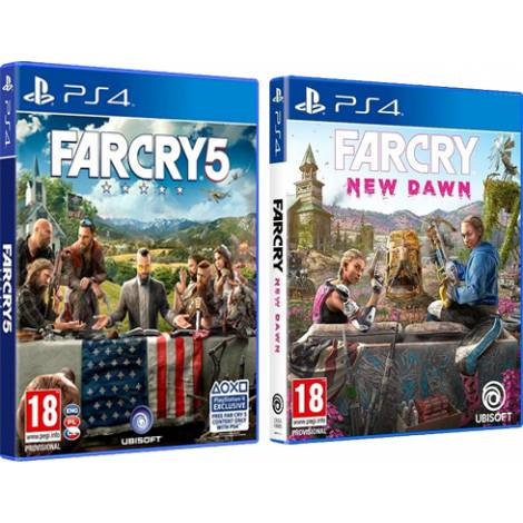 Far Cry: New Dawn & Far Cry 5 (PS4)