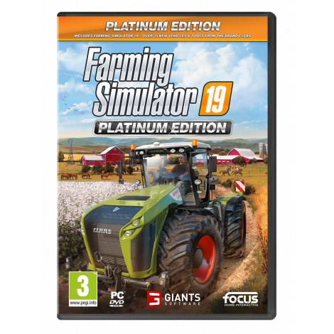 FARMING SIMULATOR 19 - PLATINUM EDITION (PC) (Pre-Order Bonus)