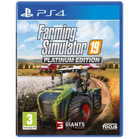 FARMING SIMULATOR 19 - PLATINUM EDITION (PS4) (Pre-Order Bonus)