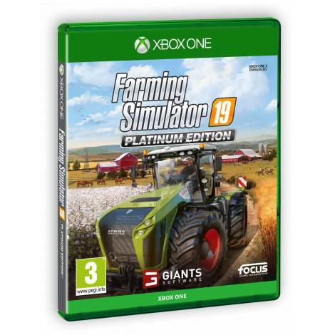 FARMING SIMULATOR 19 - PLATINUM EDITION (Xbox One) (Pre-Order Bonus)