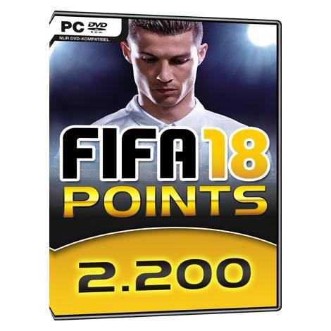 FIFA 18 2200 FIFA POINTS