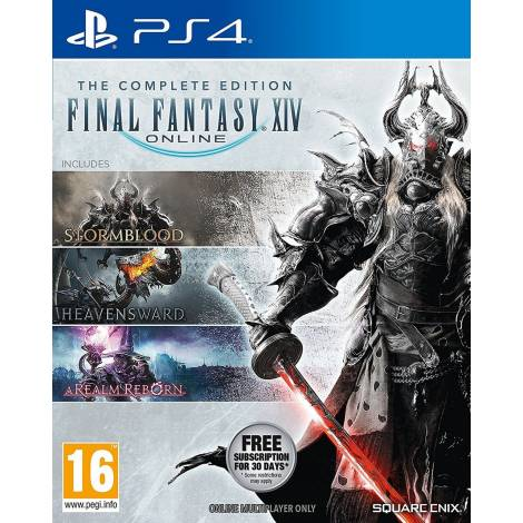 FINAL FANTASY XIV ONLINE COMPLETE EDITION (2019) (PS4)