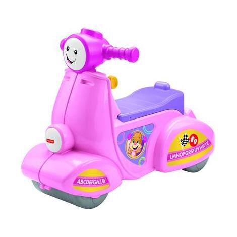FISHER PRICE - LAUGH & LEARN SMART STAGES SCOOTER (IN GREEK) - PINK (DPV94)