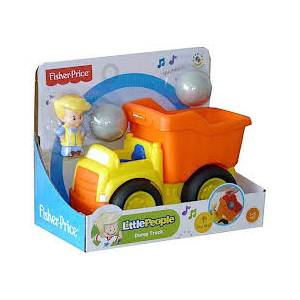 FISHER PRICE - LITTLE PEOPLE DELUXE VEHICLES - DUMP TRUCK (BDY81)