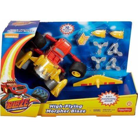 FISHER PRICE NICKELODEON BLAZE AND THE MONSTER MACHINES - HIGH-FLYING MORPHER BLAZE (DTK35)