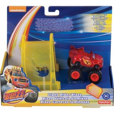 FISHER PRICE NICKELODEON: BLAZE AND THE MONSTER MACHINES - LIGHT RIDER BLAZE (DTV23)