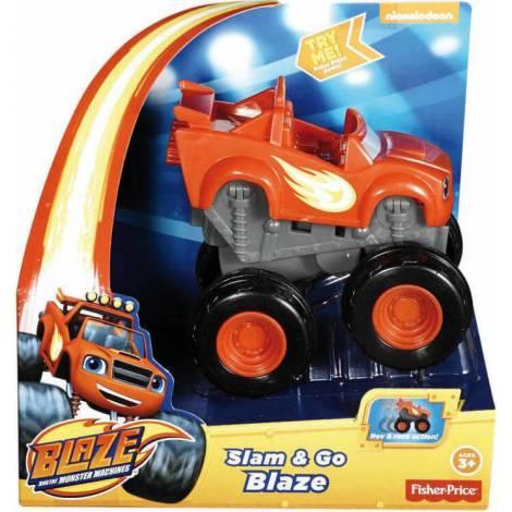 Fisher-Price Nickelodeon - Blaze And The Monster Machines - Slam & Go - Darington (DYN40)