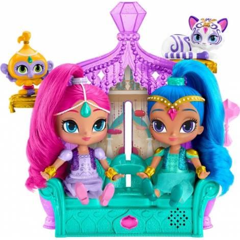 Fisher - Price Shimmer & Shine Dolls - Secret Float & Sing Palace Playset (Speak English) (DGL73)