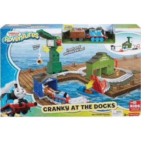 Fisher Price Thomas & Friends Adventures - Cranky at the Docks Set (DVT13)