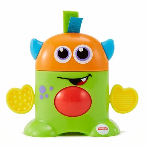 Fisher Price Tote-Along Monster Harvey Green/Orange (FHF81)