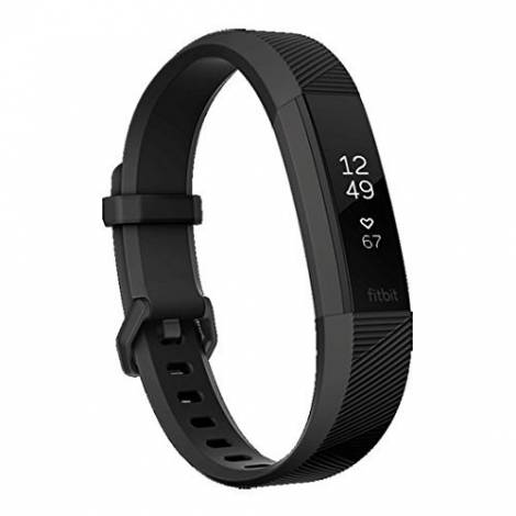 Fitbit Alta HR Special Edition Gunmetal - Black (Large) (FB408GMBKL-EU)