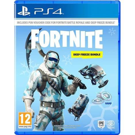 Fortnite: Deep Freeze Bundle (PS4) (Code In A Box)