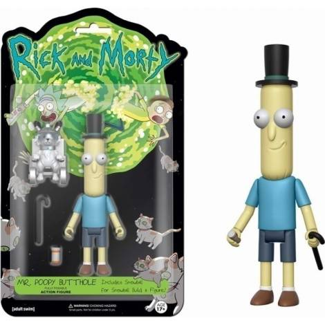 Funko Action Figures Rick & Morty TV-Series - Butthole Poseable Figure 12cm