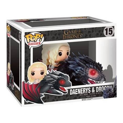 Funko Game of Thrones Daenerys & Drogon #15 POP! Rides Vinyl Figure