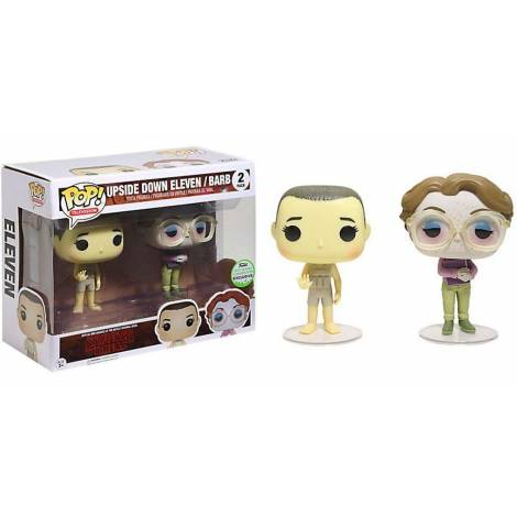 Funko Pack 2 figures POP. Stranger Things Upside Down Eleven & Barb