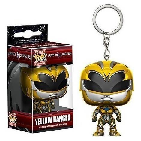 Funko Pocket Pop! Power Rangers - Yellow Ranger Keychain