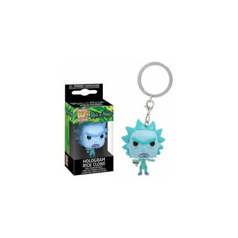 Funko Pocket POP! Rick & Morty - Hologram Rick Clone Keychain