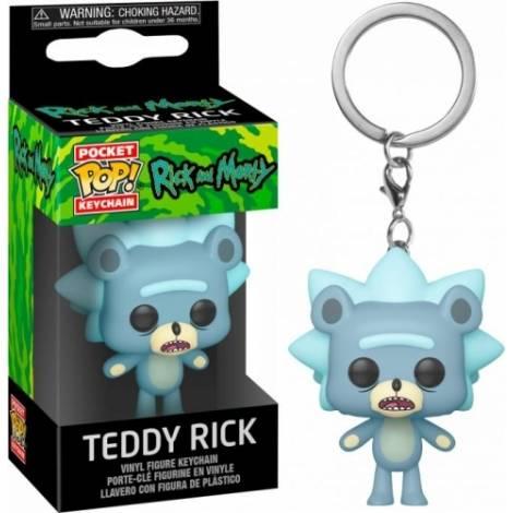 Funko Pocket POP! Rick & Morty - Teddy Rick Keychain