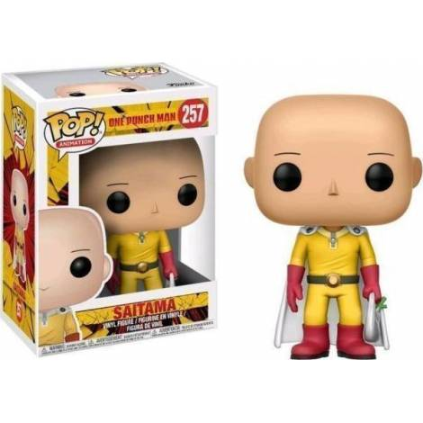 Funko Pop! Animation: One Punch Man - Saitama #257 Vinyl Figure