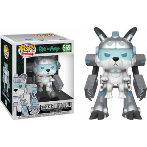 Funko POP! Animation: Rick and Morty S6 - Exoskelton Snowball (15cm) #569 Vinyl Figure