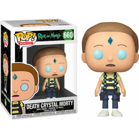 Funko POP! Animation Rick & Morty - Death Crystal Morty # Vinyl Figure