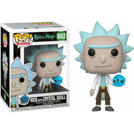 Funko POP! Animation: Rick & Morty - Mr. Poopy Butthole Auctioneer # Vinyl Figure