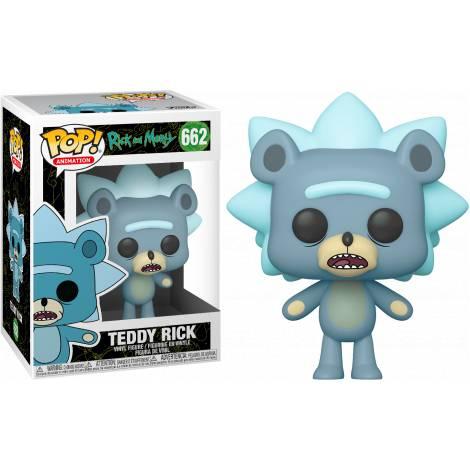 Funko POP! Animation Rick & Morty - Teddy Rick w/ Chase # Vinyl Figure