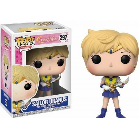 Funko POP! Animation: Sailor Moon - Sailor Uranus #297 Vinyl Figure
