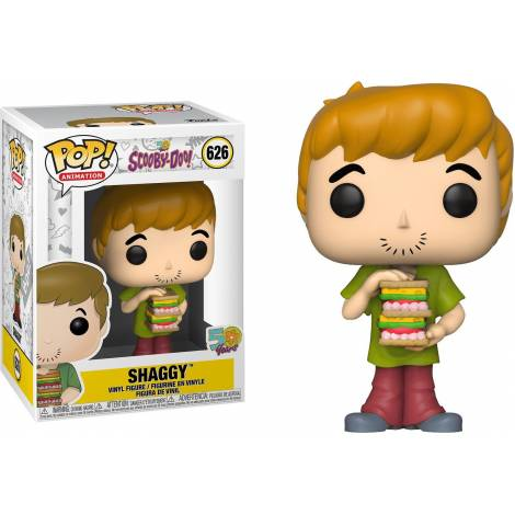 Funko POP! Animation: Scooby Doo - Shaggy with Sandwich #626 Vinyl Figure