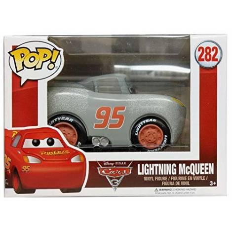 Funko PoP!  Disney Cars 3 3 Figure Lightning McQueen Grey Primed (14179) #282