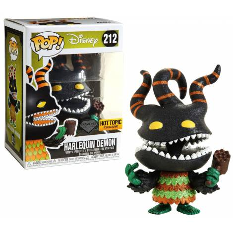 Funko POP! Disney: The Nightmare Before Christmas - Harlequin Demon Diamond Collection (Special Edition) #212 Vinyl Figure