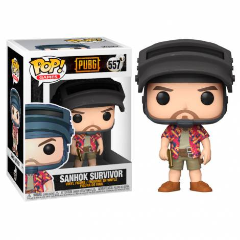Funko POP! Games PUBG - Hawaiian Shirt Guy #557 Vinyl Figure