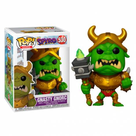 Funko POP! Games: Spyro - Gnasty Gnorc Vinyl Figure