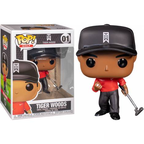Funko POP! Golf Tiger Woods (Red Shirt) # Vinyl Figure