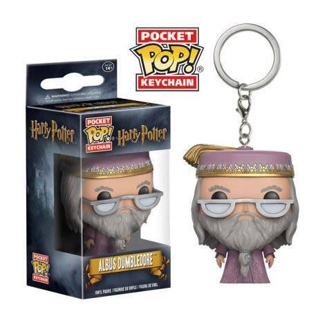 Funko PoP! HARRY POTTER Dumbledore Keyring Standard