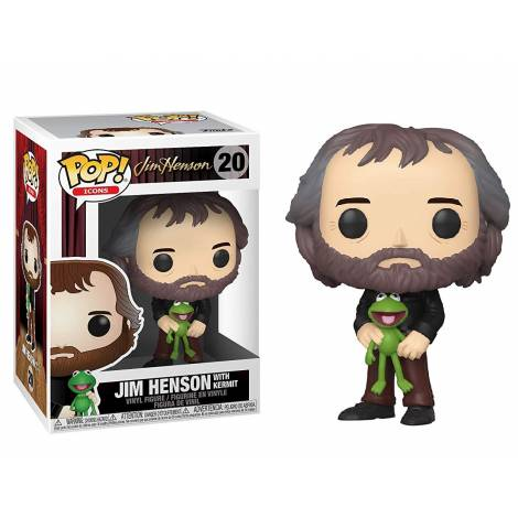 Funko Pop! Icons: jim Henson - jim Henson With Kermit #20 Vinyl Figure