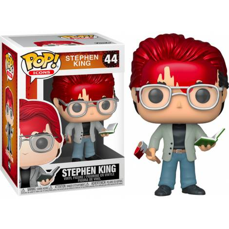 Funko POP! Icons: Stephen King - Stephen King (with Axe and Book) Special Edition #44 Vinyl Figure