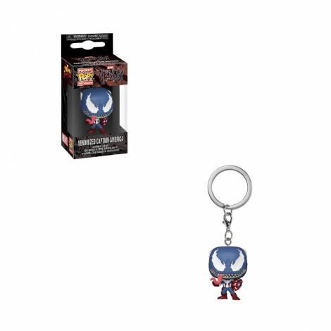Funko POP! Keychain: Marvel Venom - Captain America Vinyl Figure #46462