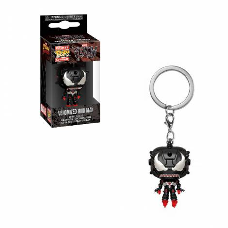 Funko POP! Keychain: Marvel Venom - Iron Man Vinyl Figure #46463