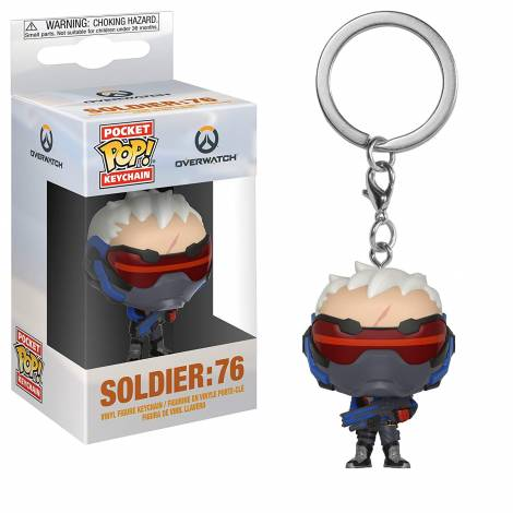 Funko POP! KEYCHAIN: Overwatch - Soldier: 76