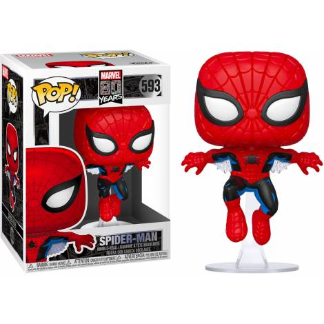 Funko POP Marvel: 80th - First Appearance Spider-Man # Vinyl Figure