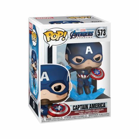 Funko POP! Marvel Endgame - Captain America with Broken Shield & Mjolnir # Vinyl Figure