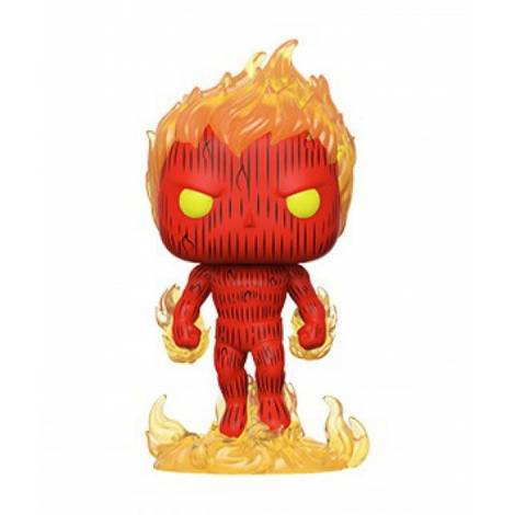 Funko POP! Marvel Fantastic Four - Human Torch # Vinyl Figure
