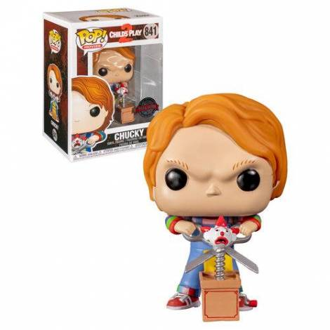 Funko POP! Movie: Child's Play 2 - Chucky with Buddy & Scissors (Special Edition) #841 Vinyl Figure