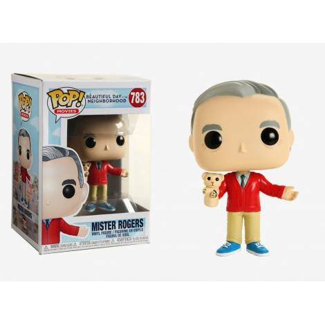 Funko POP! Movies: A Beautiful Day in the Neighborhood - Mr Rogers #783