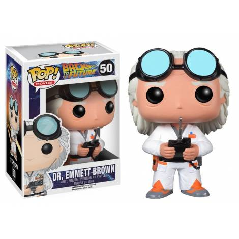 Funko POP! Movies: Back To The Future - Dr. Emmett Brown #50 Vinyl Figure