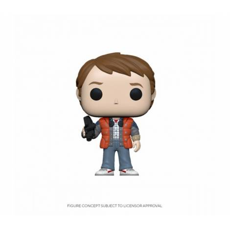 Funko POP! Movies: Back to the Future S4 Marty in Puffy Vest # Vinyl Figure