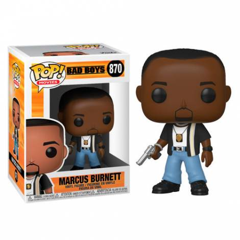 Funko POP! Movies: Bad Boys - Marcus Burnett # Vinyl Figure