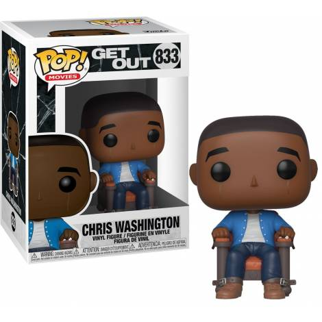 Funko POP Movies: Get Out-Chris Hypnosis Collectible Figure #833